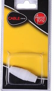 Aerial King Cable Joiner, Retail Box, No Warranty