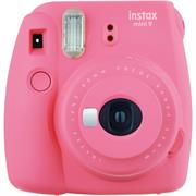 Fujifilm Instax Mini 9 Instant Film Camera – Produces credit card-sized prints, Selfie mirror, Macro lens for close-ups, Auto exposure with manual switching, Built-in flash-Colour:Flamingo Pink, Retail Box , 1 year Limited Warranty