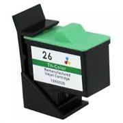Lexmark Z13/ Z23/Z24/Z25/Z33/Z35 Ink Color Cartridge, Retail Box , No Warranty