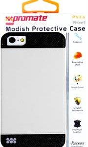 Promate Philis iPhone 5 Modish Protective Case Colour: White combination of sophisticated Modish Protective Case for iPhone5/5S,The newly developed Philis protective case delivers supreme protection for your iPhone 5/5s daily usage. Its interior is providing the best of both worlds: a combination of sophisticated design for effectiveness, beauty, and complete protection, while still providing full access to smartphone ports. Philis takes care of your iPhone 5/5s interior and exterior look, assuring reliable and scratch resistance shield. , Retail Box , 1 Year Warranty