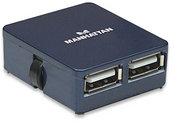Manhattan 4 port USB Micro Hub , Retail Box, Limited Lifetime Warranty
