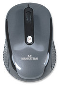 Manhattan Performance Wireless USB Optical Mouse-2.4 GHz RF technology offers wireless freedom with effective range up to 10 m, Retail Box, Limited Lifetime Warranty