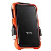 Apacer AC630 2TB USB 3.1 Military-Grade Shockproof External Hard Drive, Retail Box, Limited 3 Year Warranty