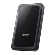 Apacer AC532 1TB USB 3.1 Gen 1 Shockproof Durable External Hard Drive, Retail Box, Limited 2 Year Warranty