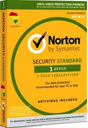 Norton Security Standard For PC/Mac – 1 Device User, Retail Packaging, No Warranty on Software