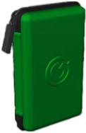 SonicGear SPX 200 2Go! Pouch – Protect, Store and Play Music from Mobile Phones, iPods, MP3, MP4 players (3.5mm jack)-Green, Retail Box , 1 year Limited Warranty