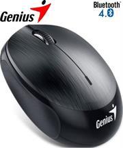 Genius NX-9000BT Bluetooth 4.0 3-button wireless optical mouse – 1200 dpi BlueEye sensor, Built-in 320mAh lithium poylmer battery, 10m Range – Grey, Retail Box , 1 year Limited warranty