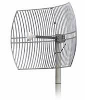 Micronet 24DBI UNI-DIRECTIONAL Grid Antenna (IEEE 802.11b), Retail Box , 1 year Limited Warranty