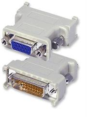 Manhattan Digital Video Adapter – DVI-I Dual Link Male to VGA Female , Retail Box, Limited Lifetime Warranty