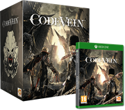 Xbox One Game Code Vein Collector's Edition – Code Vein Collector's Edition includes: – Code Vein collector box – Code Vein full game on Xbox One – A 17cm figurine of character Mia Karnstein complete with her Bayonet and signature Stinger weapon., Retail Box, No Warranty on Software