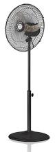 Mellerware Pedestal Steel Fan 40cm Blk Retail Box 1 year warranty