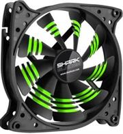 Sharkoon Shark 120mm X 120mm X 25mm PC FAN – Green Blades, Retail Box , 1 Year warranty