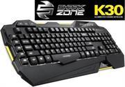 Sharkoon SHARK ZONE K30 Modern keyboard with LED illumination , Retail Box , 1 Year warranty