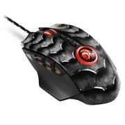 Sharkoon Drakonia II Gaming Laser Mouse with adjustable weights – 15000 DPI Optical sensor, 12 programmable buttons + 4-way scroll wheel, USB Interface – Black, Retail Box , 1 Year warranty