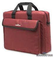 Manhattan 15.4″ Fuchsia London notebook bag, Retail Box, Limited Lifetime warranty