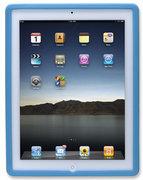 Manhattan iPad 2 & 3 Silicon Slip-fit Sleeve Colour:Blue , Retail Box, Limited Lifetime Warranty
