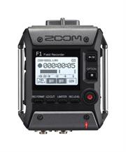 Zoom F1 Field Recorder with Shotgun Microphone-2-Channel Field Audio Recorder ,SGH-6 Shotgun Microphone , 1.25 inch Monochrome LCD display , One-touch button controls, 24-Bit/96 kHz Audio, WAV and MP3,Records Directly To Micro SD and SDHC Cards, Requires 2 x AAA Batteries, Retail Box, 1 year Limit warranty