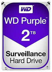 Western Digital Purple (WD20PURZ) – 2.0TB 3.5″ SATA3 6.0Gbps Surveillance HDD, Intellipower™ Speed Management, 64MB Cache, 150MB/s Host to/from (Sustained), AllFrame, HD Video Optimised, , 2 year warranty