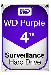 Western Digital Purple (WD40PURZ) – 4.0TB 3.5″ SATA3 6.0Gbps Surveillance HDD, Intellipower™ Speed Management, 64MB Cache, 150MB/s Host to/from (Sustained), AllFrame, HD Video Optimised, , 2 year warranty
