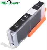 Inkpower Generic Replacement for Canon PGI 471XL Black Ink Cartridge- Page Yield 300 Pages with 5% Coverage for use with Canon Pixma Printers- MG5740, MG5720, MG5721, MG5722, MG5750, MG5751,MG5752, MG5753, MG6820, MG6821, MG6822, MG6850 MG6851, MG6852, MG6853, MG6860, MG7720, MG7721, MG7722, MG7723, MG7740, MG7750, MG7751, MG7752, MG7753, MG7760, Pixma TS5040, TS6040, TS8040, TS9040, Black, Retail Box , No Warranty