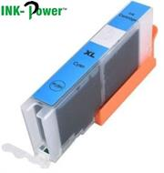 Inkpower Generic Replacement for Canon PGI 471XL Cyan Ink Cartridge- Page Yield 300 Pages with 5% Coverage for use with Canon Pixma Printers- MG5740, MG5720, MG5721, MG5722, MG5750, MG5751,MG5752, MG5753, MG6820, MG6821, MG6822, MG6850 MG6851, MG6852, MG6853, MG6860, MG7720, MG7721, MG7722, MG7723, MG7740, MG7750, MG7751, MG7752, MG7753, MG7760, Pixma TS5040, TS6040, TS8040, TS9040, Cyan, Retail Box , No Warranty