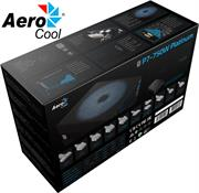 AeroCool Project 7 RGB Ready 750w 80 Plus Platinum Certified Modular Power Supply- Super Quiet- 14cm Fan with FDB (Fluid Dynamic Bearing), Conforms to ATX12V v2.4 and EPS v2.92 standards, Fully compatible with the latest generation Intel Core series processors starting from the 4th Generation CPU Intel 'Haswell' platform's C6/C7 power saving mode Retail Box , 12 Month Limited warranty