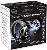 Hercules HDP DJ Light-Show ADV Professional DJ Headphones, Retail Box, 1 year Limit warranty