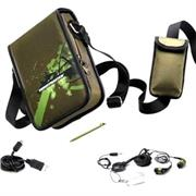 ThrustMaster T Pack Only for Boys -4 game pockets, stylus pocket, adjustable cross-over shoulder strap, Case for MP3 player or mobile phone, Can also be used to on any 7 inch Tablet PC, Retail Box 3 months warranty