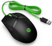 HP Pavilion USB Wired Gaming Mouse 300 – Ergonomic Shape Ambidextrous Design, 5000 DPI Optical Sensor with 4 Sensitivity Settings, On-The-Fly Customization, 8 Buttons Total With 2 Thumb Buttons On Each Side, Customize LED Lighting With A Choice Of Green, Red, Purple, Or White Colours, Plus Static Or Breathing Effects, Rubber Grips On Both Sides Of The Mouse, Retail Box , 1 year Limited warranty