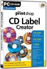 Apex PrintShop CD Label Creator PC, Retail Box , No Warranty on Software