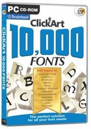 Apex Clickart Fonts 2, Retail Box , No Warranty on Software