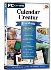 Apex PrintMaster Calendars PC, Retail Box , No Warranty on Software