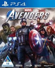 PlayStation 4 Game Marvel Avengers Standard Edition, Retail Box, No Warranty on Software