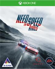 Xbox One Game Need For Speed Rivals, Retail Box, No Warranty on Software