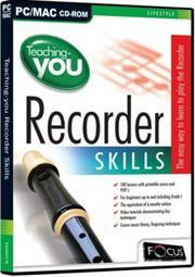 Apex Teaching you Recorder Skills, Retail Box , No Warranty on Software