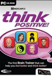 Apex Mindscape's Brain Trainer:Think Positive, Retail Box , No Warranty on Software