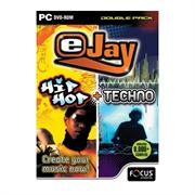 Apex Ejay Hip Hop & Techno Double Pack, Retail Box , No Warranty on Software