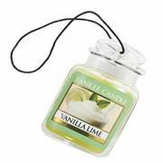 Yankee Candle Vanilla Lime Car Jar Retail Box No warranty