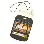 Yankee Candle Black Coconut Car Jar Retail Box No warranty