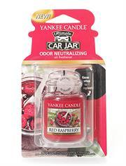 Yankee Candle Red Rasberry Car Jar Retail Box No warranty