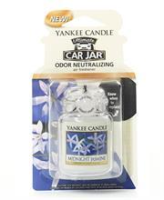 Yankee Candle Midnight Jasmine Car Jar Retail Box No warranty