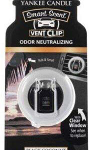Yankee Candle Black Coconut Vent Clips Retail Box No warranty