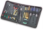Manhattan 17pc PC Service Tool Kit , Retail Box, 2 year Limited Warranty