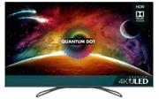 Hisense 55 inch ULED Quantum Dot Ultra High Definition VIDAA U3.0 Smart TV – Resolution 3840 × 2160, Native contrast ratio 5000:1, Colour depth: 8bit + FRC, Viewing Angle (Horiz / Vert) [Degrees] 178/178, Built-in Wi-Fi 802.11 ac/b/g/n, Ethernet Lan port (RJ45 connector), 4x HDMI inputs, 2x USB 2.0 ports, Retail Box , 4 year Limited Warranty