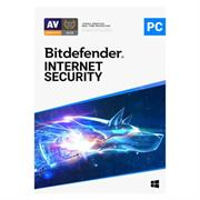 Bitdefender Internet Security 5 Device + MyCyberCare, Retail Packaging, No Warranty on Software