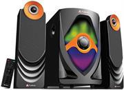 Audionic Rainbow R20 2.1 Channel HiFi speakers, remote control, SD/ MMC/ USB, Retail Box , 1 year Limited Warranty