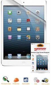 Promate proShield.iPm-C Premium Clear Screen Protector for iPad Mini Retail Box 1 Year Warranty