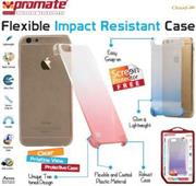 Promate Cloud-i6 Ultra-Slim Snap-On Case with dual transparent colors For iPhone 6 , Retail Box , 1 Year Warranty