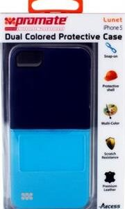 Promate Lunet iPhone 5 Durable case with a cut-out design , Retail Box , 1 Year Warranty