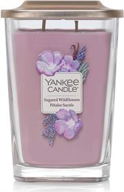 Yankee Candle Elevation Sugared Wildflower Large Retail Box No warranty